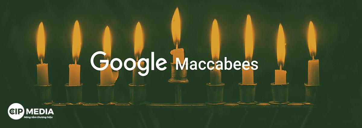 Thuật toán xếp hạng Google Maccabees