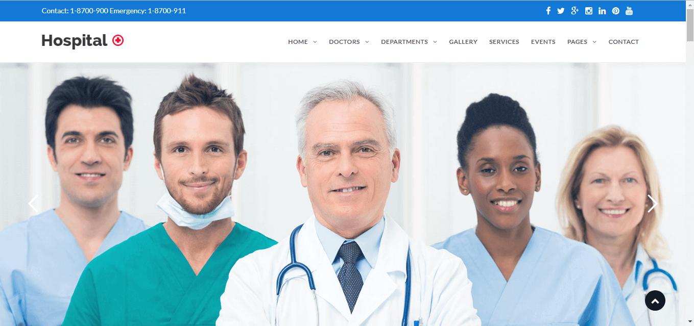 website bệnh viện