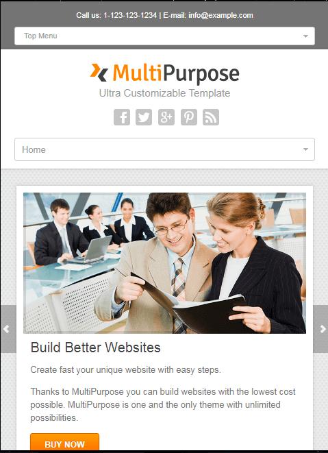mẫu thiết kế website giới thiệu doanh nghiệp